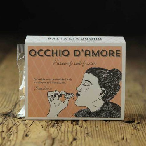 Occhio d'amore cookies